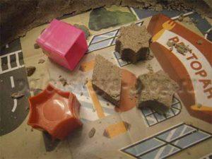 игры с кинетическим песком