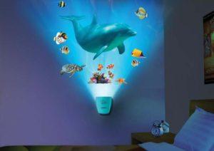 лампа -проектор океан