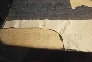 из папиных джинсов джинсы малышу