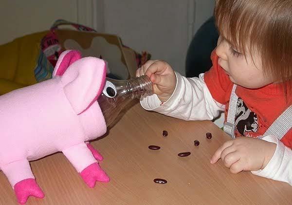 Игрушки для малыша 1 года своими руками