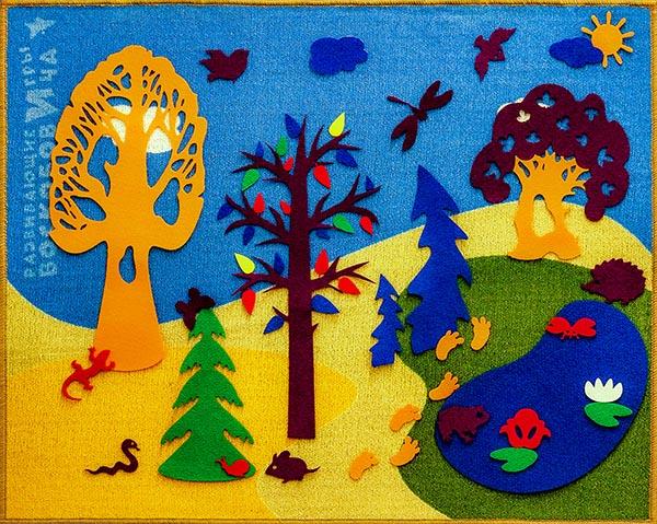 фиолетовый лес Воскобовича