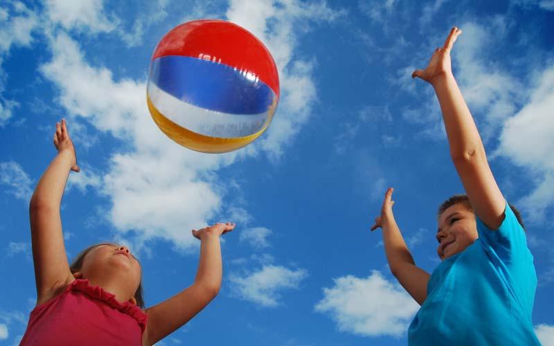 игры с мячом для детей