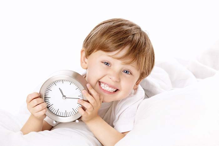 ребенок и режим дня