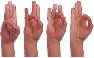 Массаж ладоней и пальцев рук для детей от 0 до 3 лет