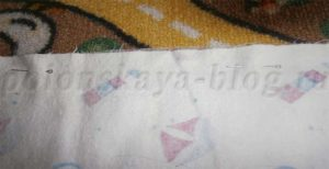 Массажный коврик из пуговиц для ребенка своими руками