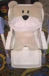 накидка на стульчик для кормления 2