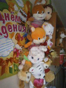 гирлянда из игрушек