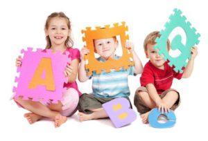 дети и буквы