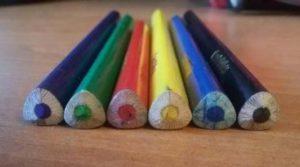 трехгранные карандаши