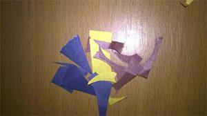 обрезки бумаги
