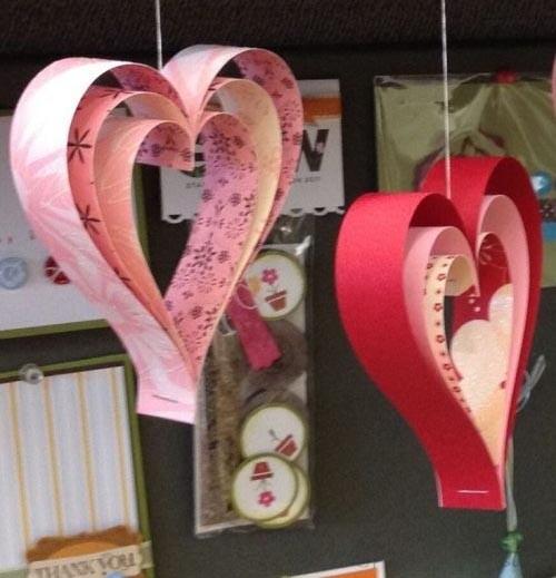 сердечки на день Валентина