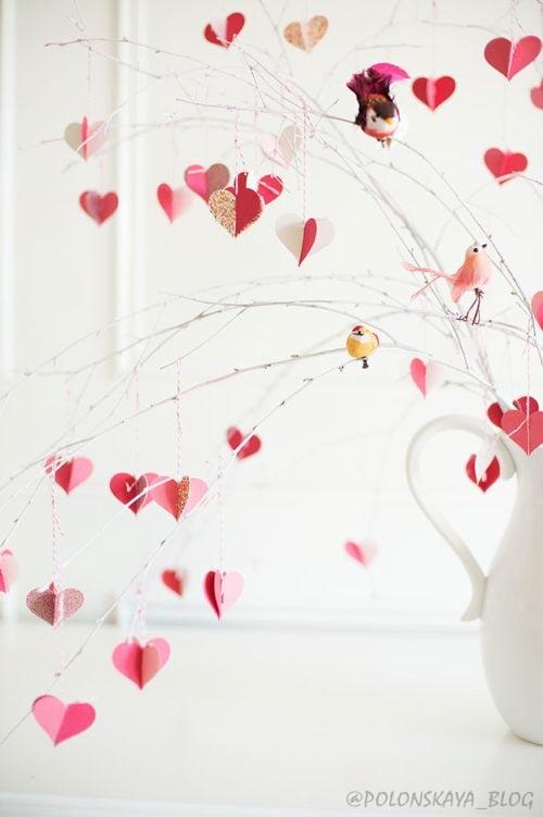украшение на день Валентина