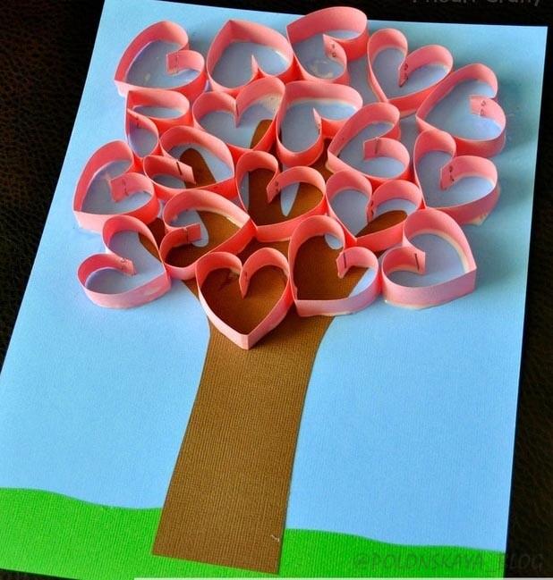 простые поделки на день валентина